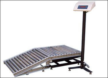 Platform Scale With Roller
